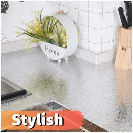 Kitchen Oil-Proof Aluminum Sticker-Clickmylife