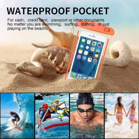 Luminous Waterproof Phone Pouch-Clickmylife