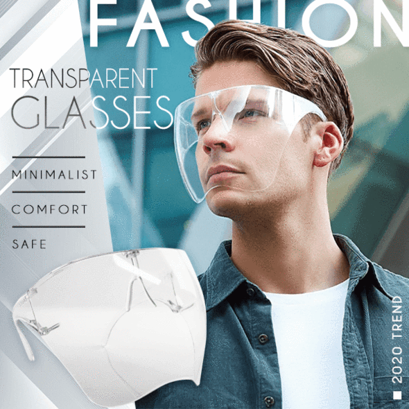 Fashion Transparent Face Shield-Clickmylife