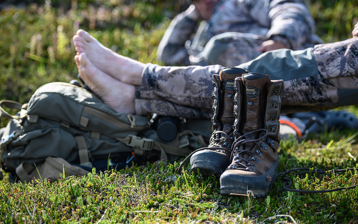 Meindl Hunting Boots and Socks