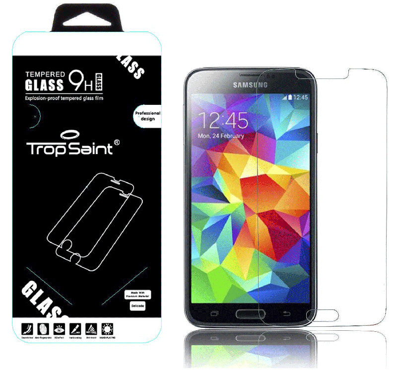 Samsung Galaxy S5 Verre Trempé 0,4mm Transparent