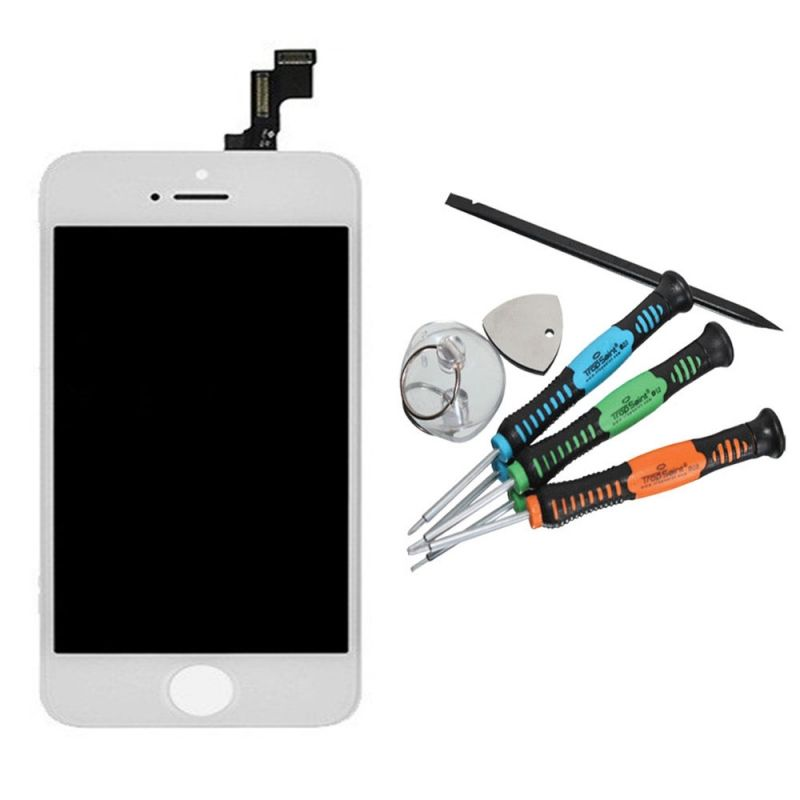 LCD Blanc Apple iPhone 5S Retina
