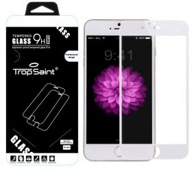 "iPhone 6 Plus / 6S Plus (5,5)"" - Blanc - Verre Trempé 0,3mm - Revetement Complet"