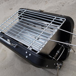 "Tragbarer Grill ""Suitcase Style"" - Portable Barbecue"