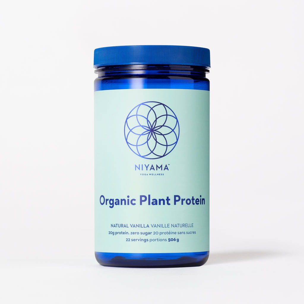 Niyama Organic Plant Protein | Vegan Protein Powder for Yoga