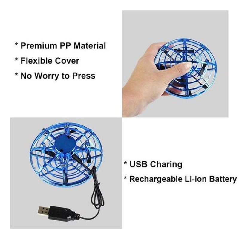 Magic hand controlled UFO mini drone