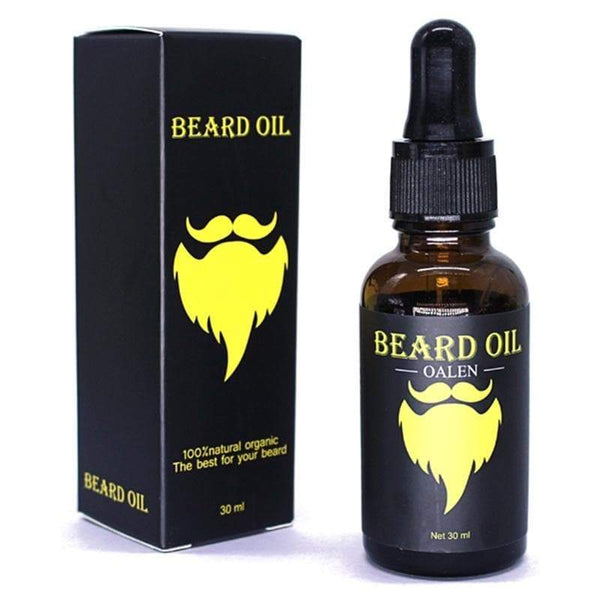 Moustache & Beard Oil Kit with Comb, Brush & Storage Bag