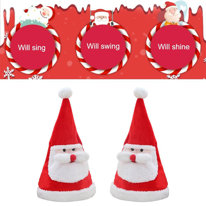 Singing & Dancing Santa Hat