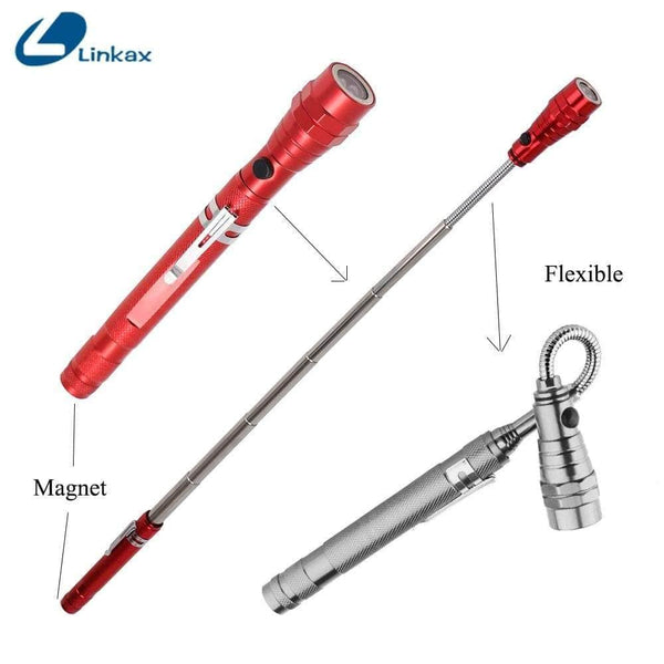 Flexible, Magnetic, Telescopic 360 degree LED Torch