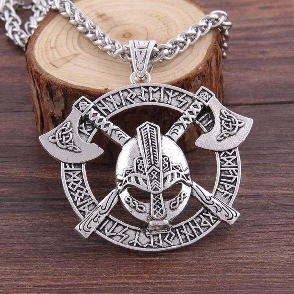 Viking Hammer Of Mjolnir Statement Necklace