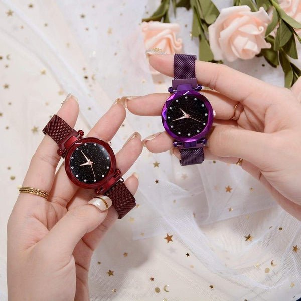 Stunning Galaxy kaleidoscope watch