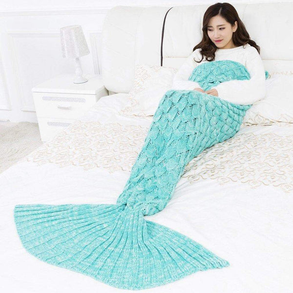 Mermaid Tail Blanket Sleeping Wrap