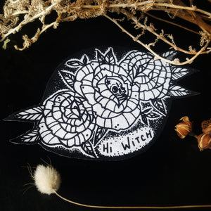 patch witch skull