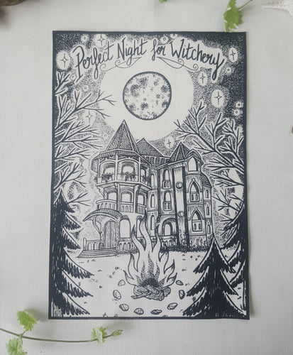 Print Perfect Night for Witchery - A4