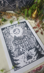 Print Perfect Night for Witchery - A3