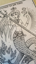 Charger l'image dans la galerie, Print Goddess of the Sea - A4