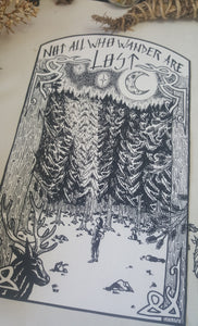 Back Patch Xl Lord of the rings