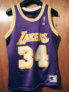 Vintage Authentic Lakers Shaq jersey