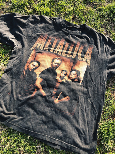 Vintage Metallica Summer 1998 North America Tour tee