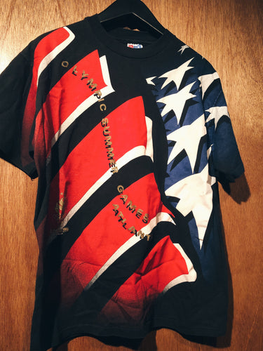 Vintage 90s Atlanta Olympic Games tee