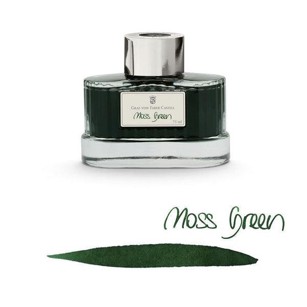 Graf von Faber-Castell Ink Bottle Moss Green 75ml