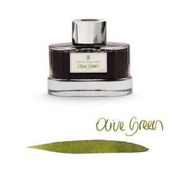 Graf von Faber-Castell Ink Bottle Olive Green 75ml - Laywine's