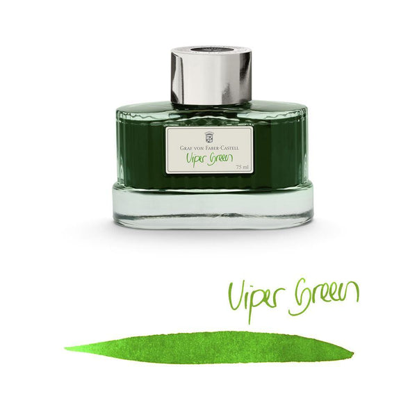 Graf von Faber-Castell Ink Bottle Viper Green 75ml
