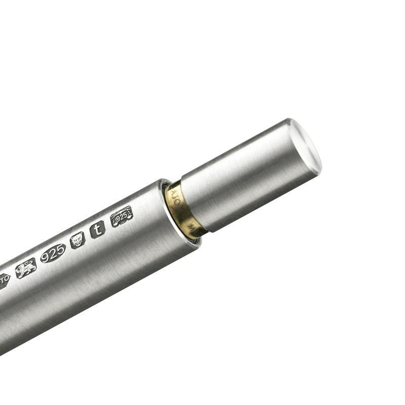AJOTO Sterling Silver Natural Rollerball - Laywine's