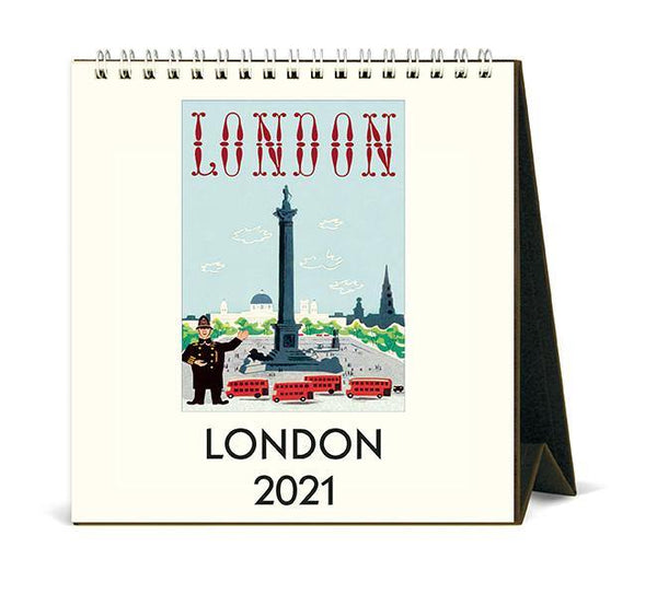 Cavallini London Desk Calendar 2021 - Laywine's