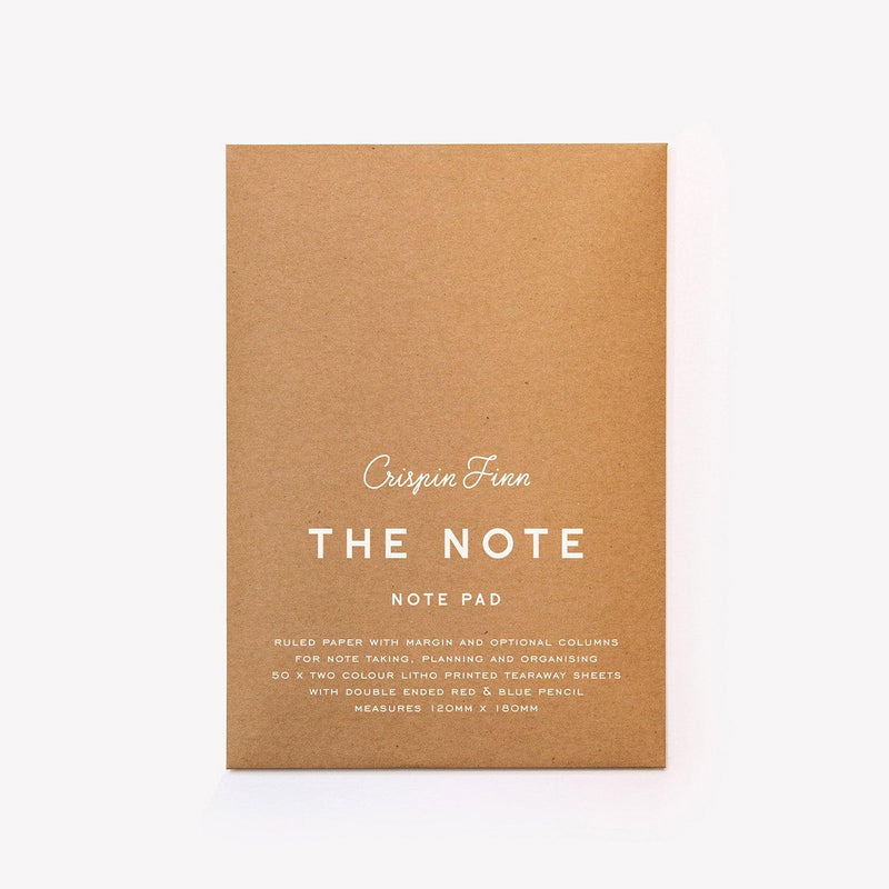 Crispin Finn The Note Pad - Laywine's
