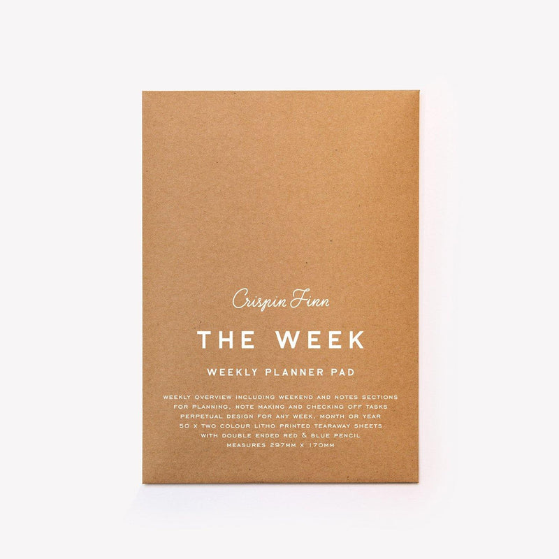 Crispin Finn The Week Pad - Laywine's