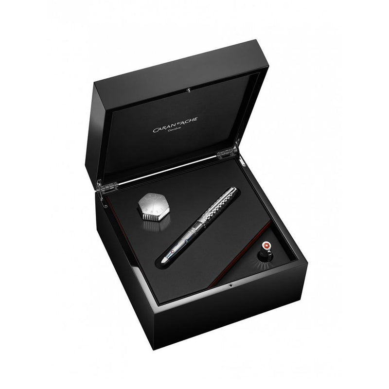Caran d'Ache 1010 Timekeeper Limited Edition Fountain Pen - Laywine's