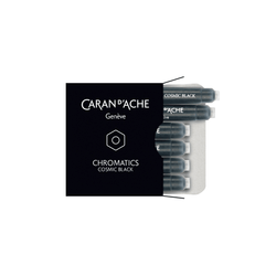 Caran d'Ache Chromatics Ink Cartridge Cosmic Black - Laywine's