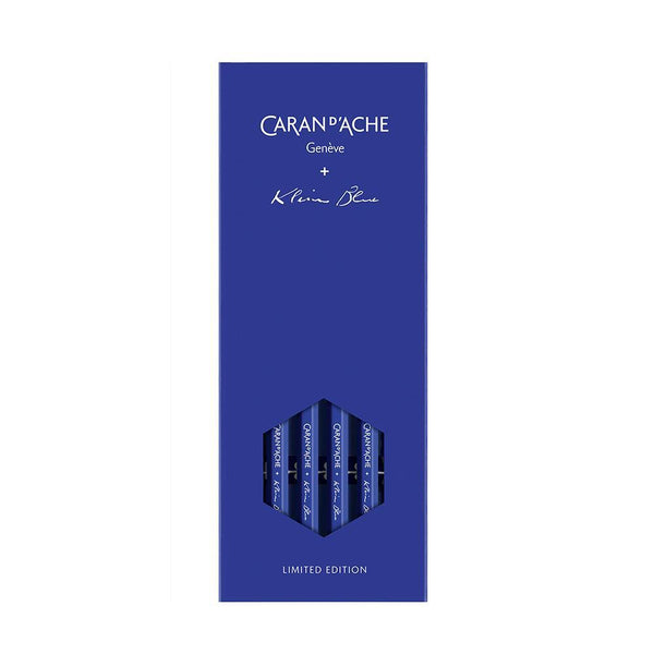 Caran d'Ache Set of 4 Graphite Pencils Klein Blue - Laywine's