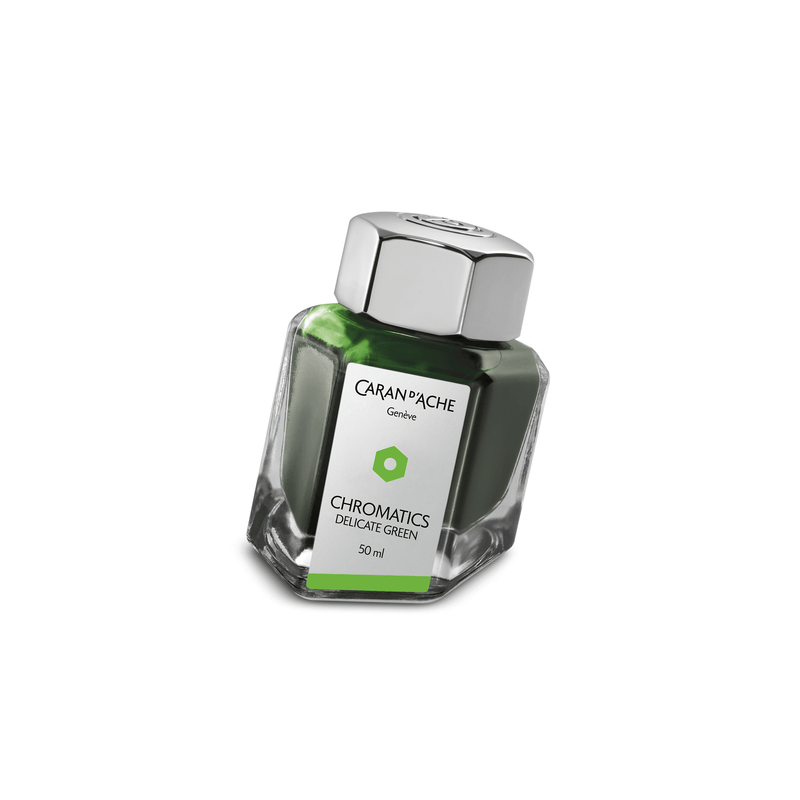 Caran D'Ache Chromatics Ink Bottle Delicate Green 50ml