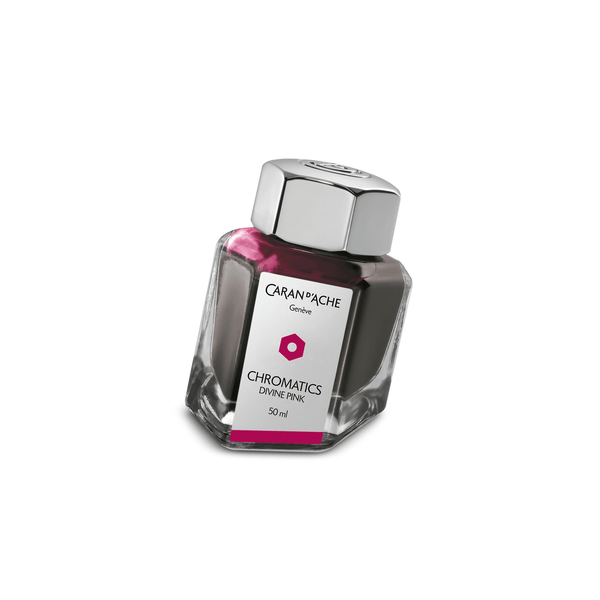 Caran D'Ache Chromatics Ink Bottle Divine Pink 50ml - Laywine's