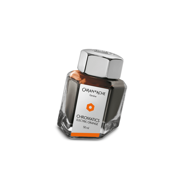 Caran D'Ache Chromatics Ink Bottle Electric Orange 50ml