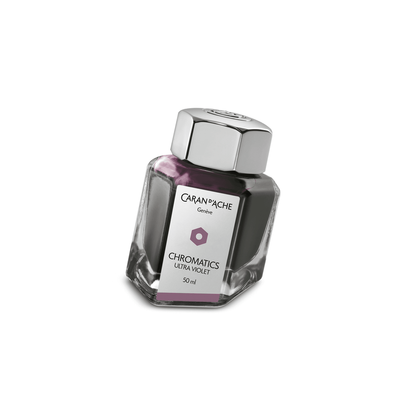 Caran D'Ache Chromatics Ink Bottle Ultra Violet 50ml - Laywine's