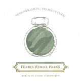 Ferris Wheel Press Moss Park Green Ink Bottle 38ml - Laywine's