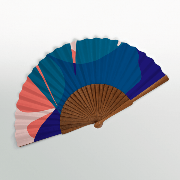Common Modern Ginkgo Pop Amalfi Paper Fan - Laywine's