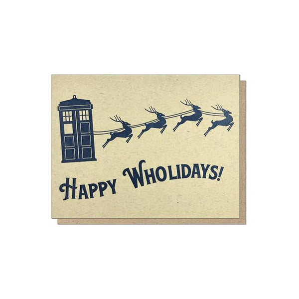 Guttersnipe Press Doctor Phonebooth Box of 6 Cards