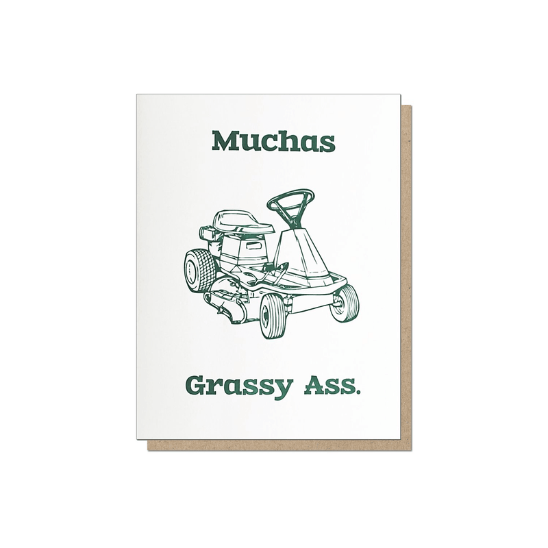 Guttersnipe Press Muchas Grassy Ass Card - Laywine's