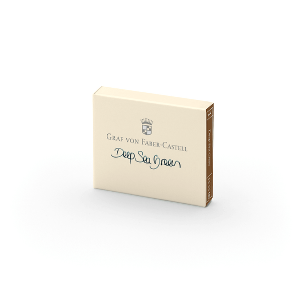 Graf von Faber-Castell Cartridges Deep Sea Green