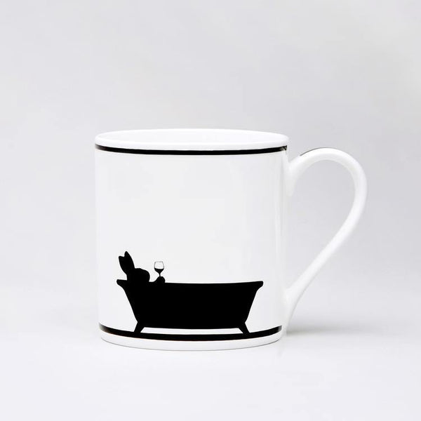 HAM Bathtime Rabbit Mug