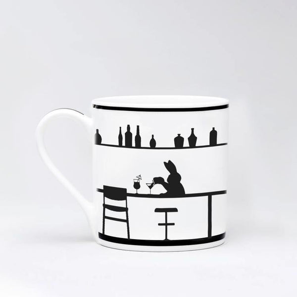 HAM Cocktail Rabbit Mug - Laywine's