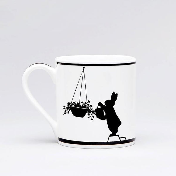 HAM Watering Rabbit Mug - Laywine's