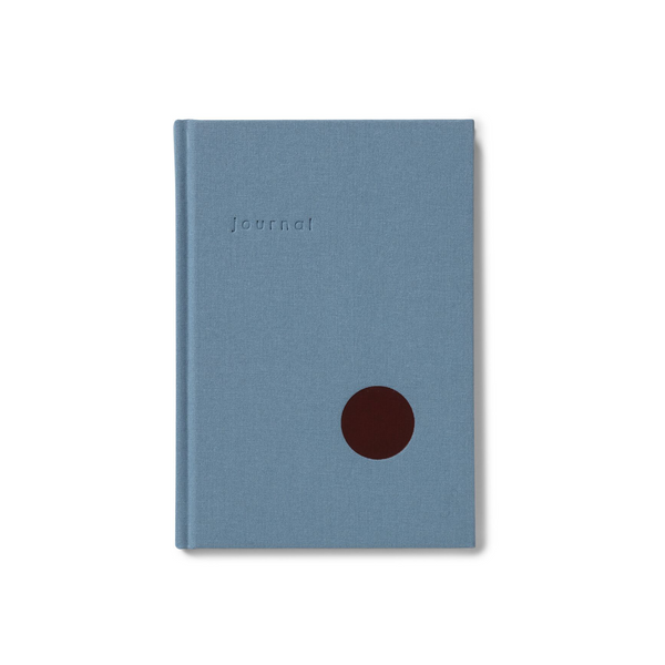 Kartotek Journal Ruled Light Blue