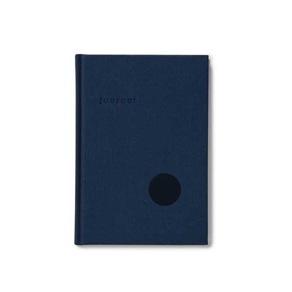 Kartotek Journal Dots Dark Blue
