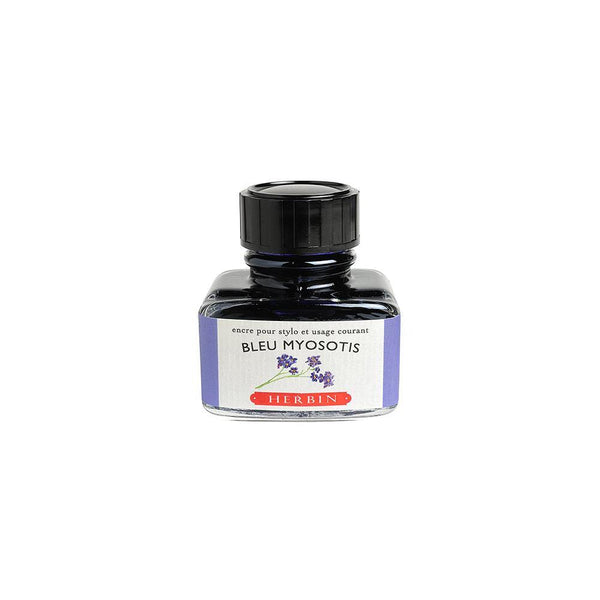 Herbin Bleu Myosotis Ink Bottle 30ml - Laywine's