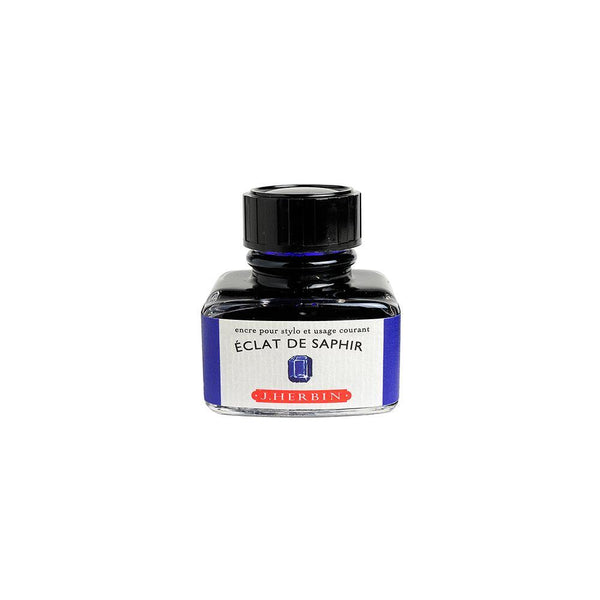 Herbin Eclat de Saphir Ink Bottle 30ml - Laywine's